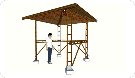 Build it Yourself Kit : Gazebo